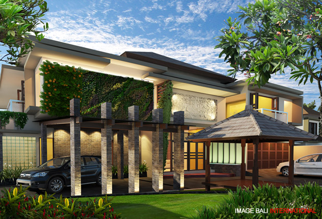 Bapak dadang private house bali project portfolio for Bali style homes to build