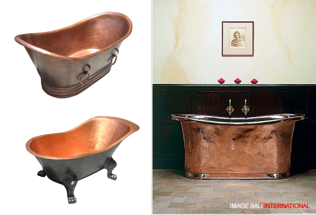 Metal Bathtub   Copper U0026 Aluminium   Product Services   Metal Fabrication    Bali Indonesia