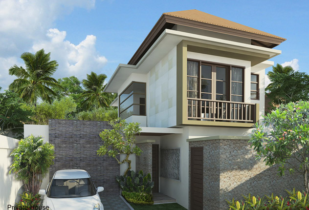 Minimalist Villa Design architect design fee | architectural fee - design services - bali