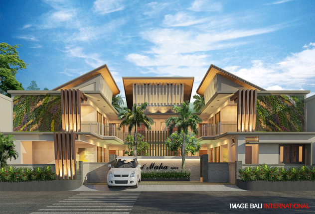 Image bali architects associates modern tropical Bali house designs floor plans