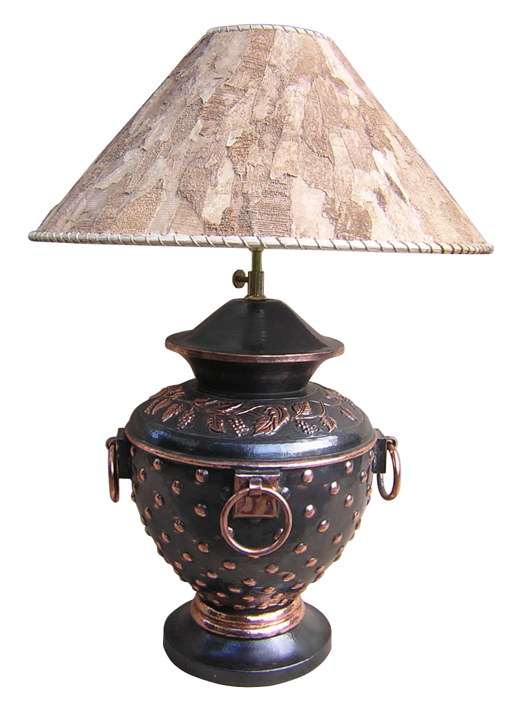 Handmade copper table lamp product services metal fabrication bali indonesia - Hand made lamps ...